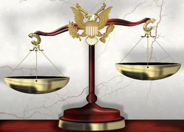 Image Scales of Justice shows the balance of what is right in child law